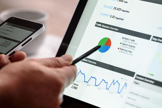 preWeb Design - Google Analytics dashboard